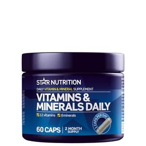 Bilde av Star Nutrition Vitamins & Minerals Daily 60 kaps