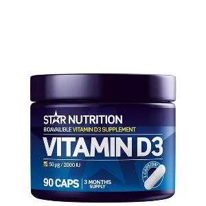 Bilde av Star Nutrition Vitamin D3 - 90 kaps