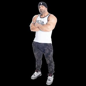 Bilde av Better Bodies Jersey Rib T-back - hvit singlett