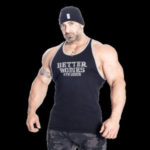 Bilde av Better Bodies Jersey Rib T-back - sort singlett