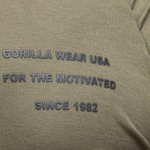 Bilde av Gorilla Wear Delta Hoodie Army Green -
