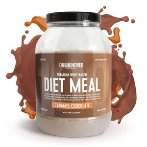 Bilde av OneToHundred Diet Meal Premium Whey 1100g