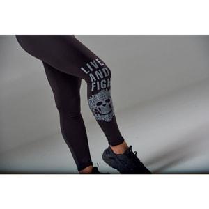 Bilde av Live & Fight Women's Leggings - Eternal Black