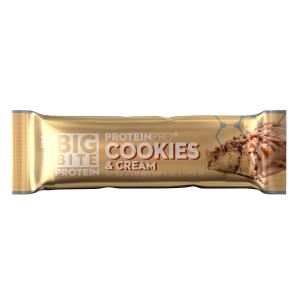 Bilde av ProteinPro BigBite 45g x 24 stk - Cookies & Cream