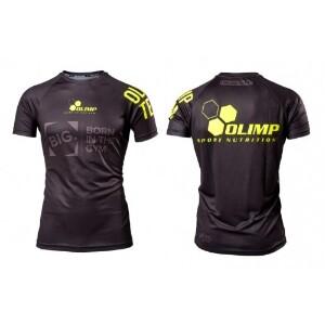 Bilde av Live & Fight Mens T-shirt Raglan Olimp Team Black