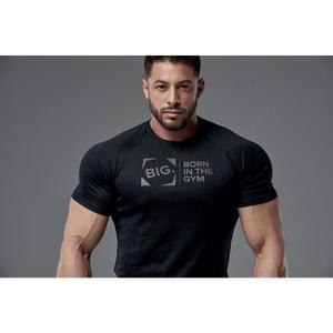 Bilde av Live & Fight Mens T-shirt Active Raglan Black