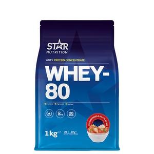 Bilde av Star Nutrition Whey-80 - 1kg