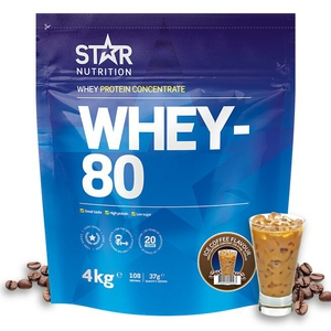 Bilde av Star Nutrition Whey-80 - 4 kg