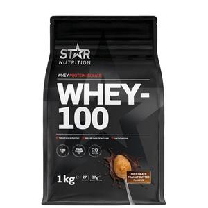Bilde av Star Nutrition Whey-100 - 1kg