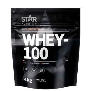 Bilde av Star Nutrition Whey-100 - 4 kg