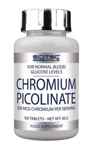 Bilde av Scitec Chromium Picolinate - 100 tabs - Krom