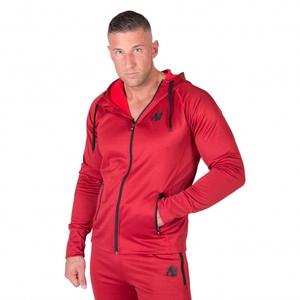 Bilde av Gorilla Wear Bridgeport Zipped Hoodie - Red -
