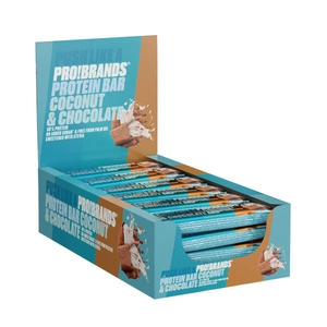 Bilde av ProteinPro Bar 45g x 24 stk - Coconut
