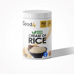 Bilde av G4N Cream of Rice 1 kg - Vanilje