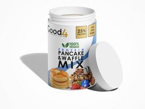 Bilde av G4N Vegan pancake&wafflemix - 500 g