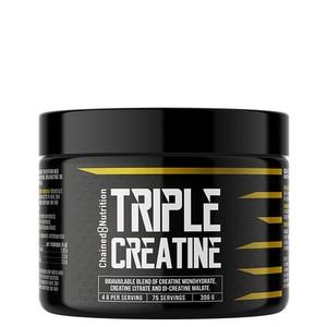 Bilde av Chained Triple Creatine Hardcore - 300 g