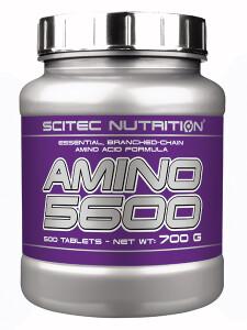 Bilde av Scitec Amino 5600 - 500 kapsler - Aminosyrer