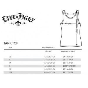 Bilde av Live & Fight Womens Classic Tank Top Black