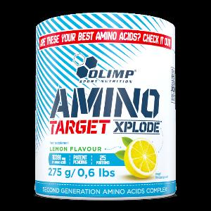 Bilde av Olimp Amino Target Xplode 275g - Aminosyrer