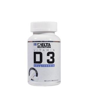 Bilde av Delta Vitamin D3 - 100 caps