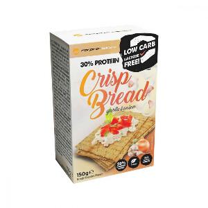 Bilde av 30% Protein Crisp Bread 150g - Garlic & Onion