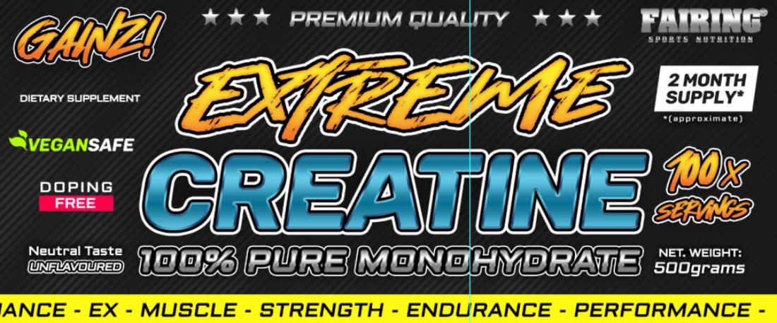 2 x Extreme Creatine 500g - kreatin monohydrat