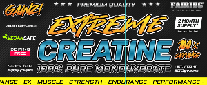 Bilde av 2 x Extreme Creatine 500g - kreatin monohydrat