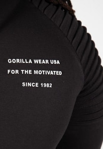 Bilde av Gorilla Wear Delta Hoodie - sort treningsjakke