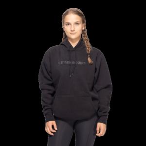 Bilde av Better Bodies Unisex Logo hoodie - Sort