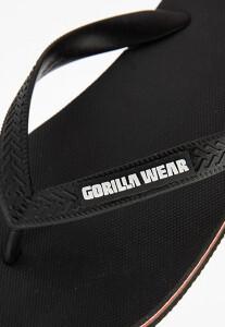 Bilde av Gorilla Wear Kokomo Flip-Flops - Sorte sandaler