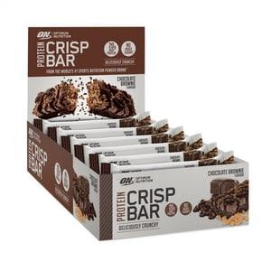 Bilde av Optimum Protein Crisp Bar Chocolate Brownie 10 x