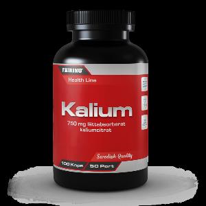 Bilde av Fairing Kalium 750 mg - 100 stk