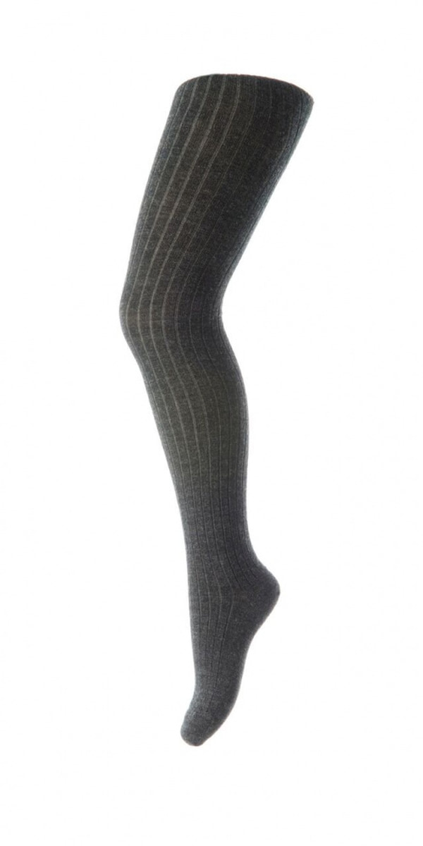 Mørk grå mp ull strømpebukse