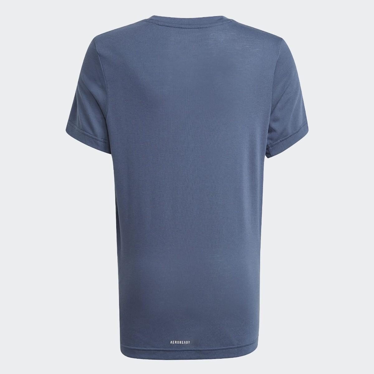 Blå Adidas Logo T-Skjorte