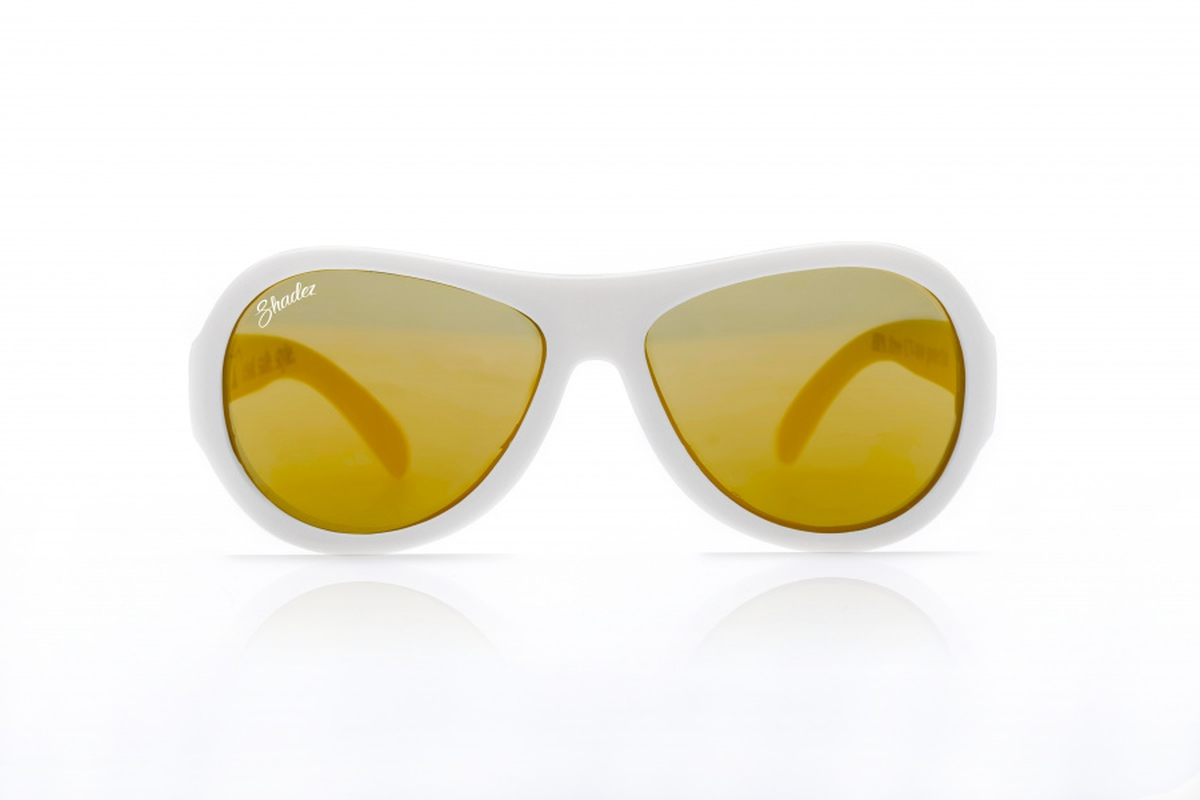 Hvit Shadez Junior Solbrille
