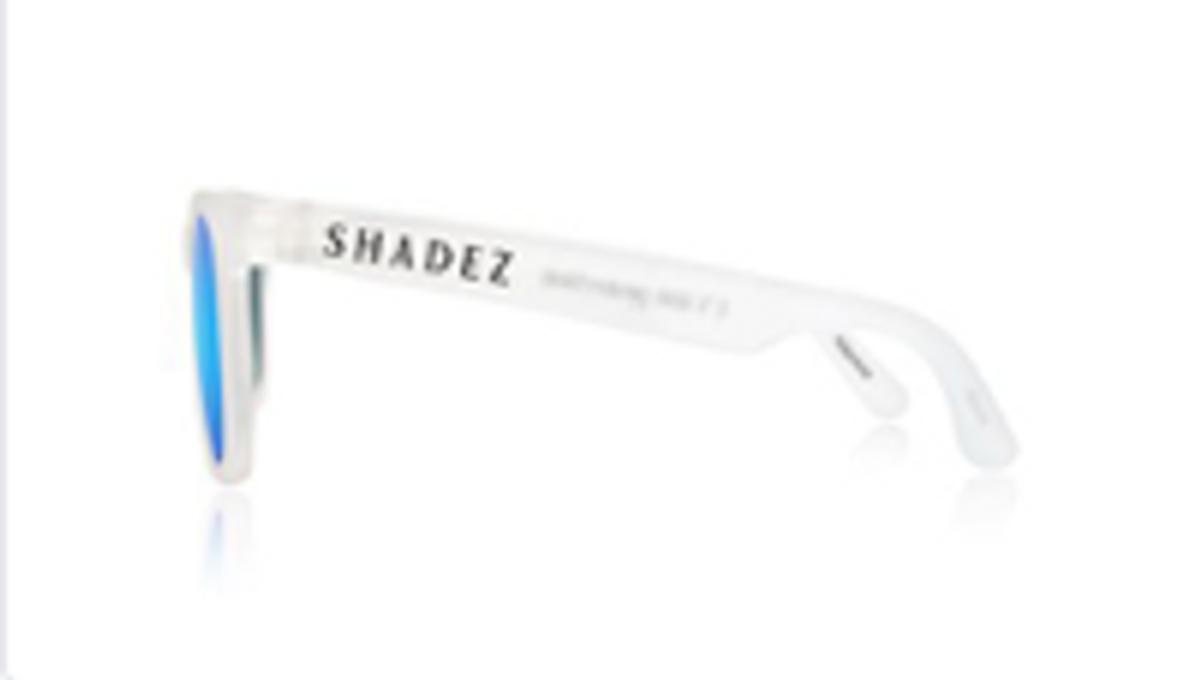 Hvit/Blå Shadez Teeny Solbrille