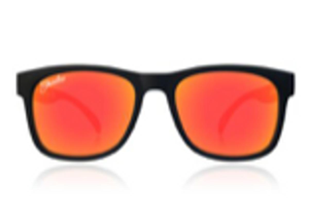 Sort/Rød Shadez Junior Solbrille