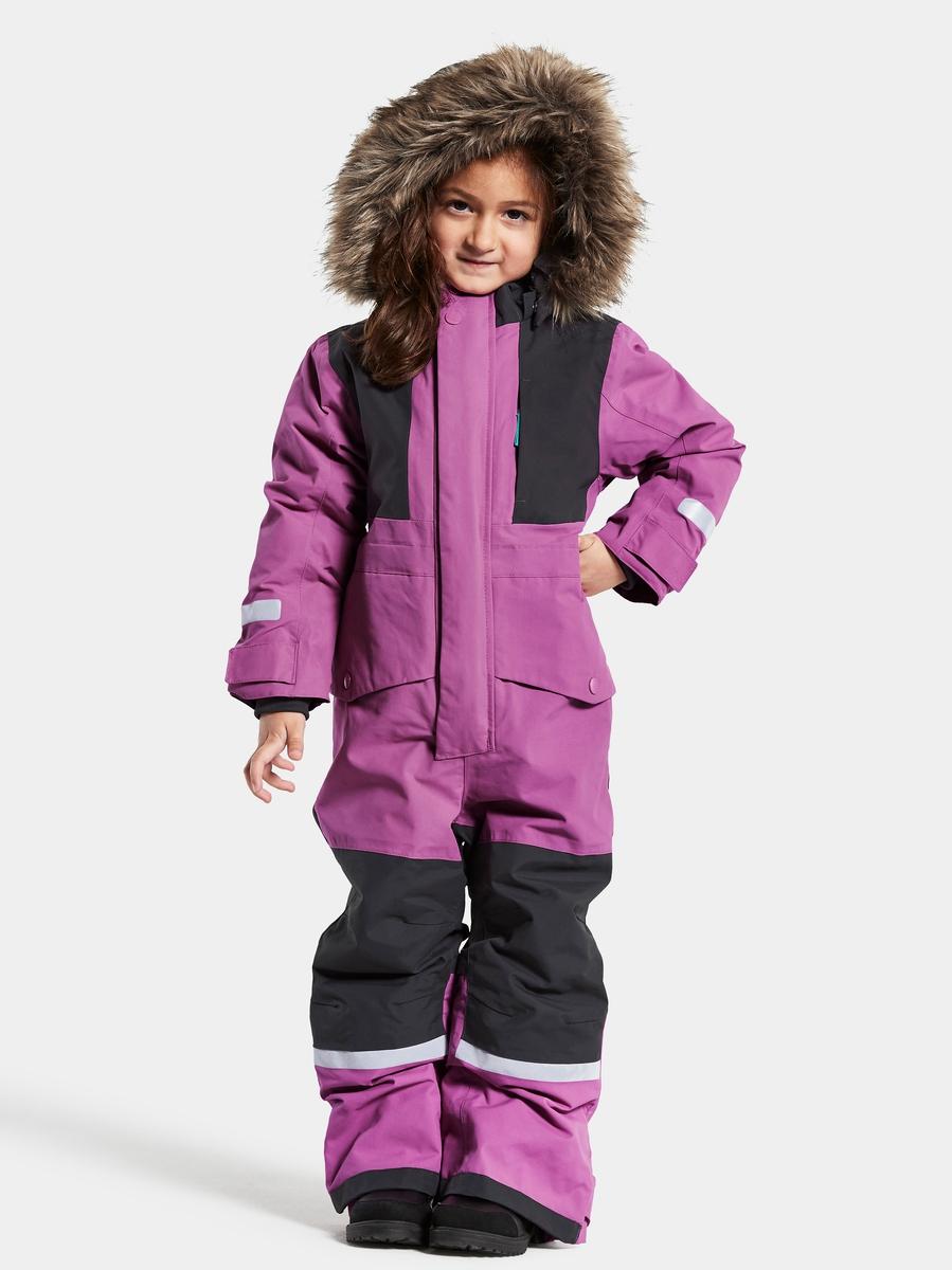 Didriksons Bjørnen Vinterdress Radiant Purple