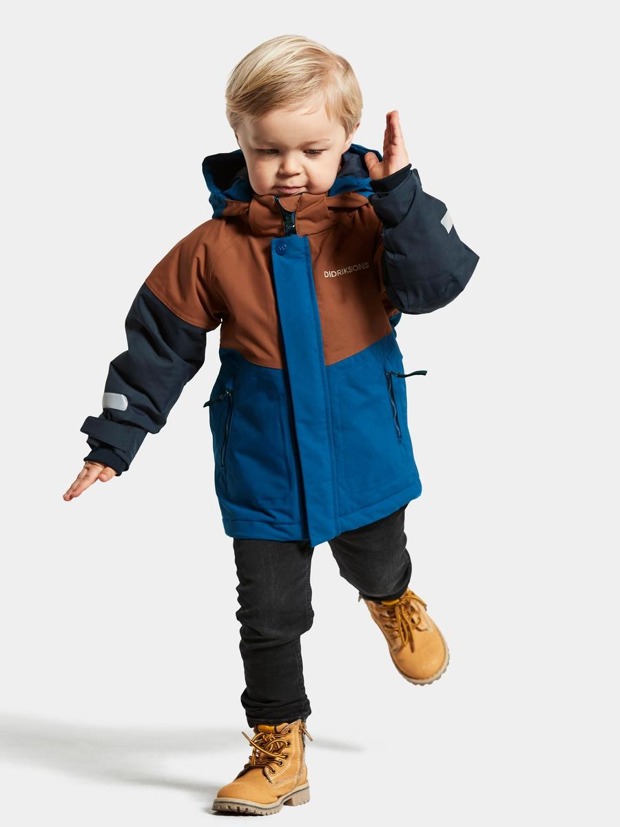 Didriksons Lun Kids Vinterjakke Classic Blue