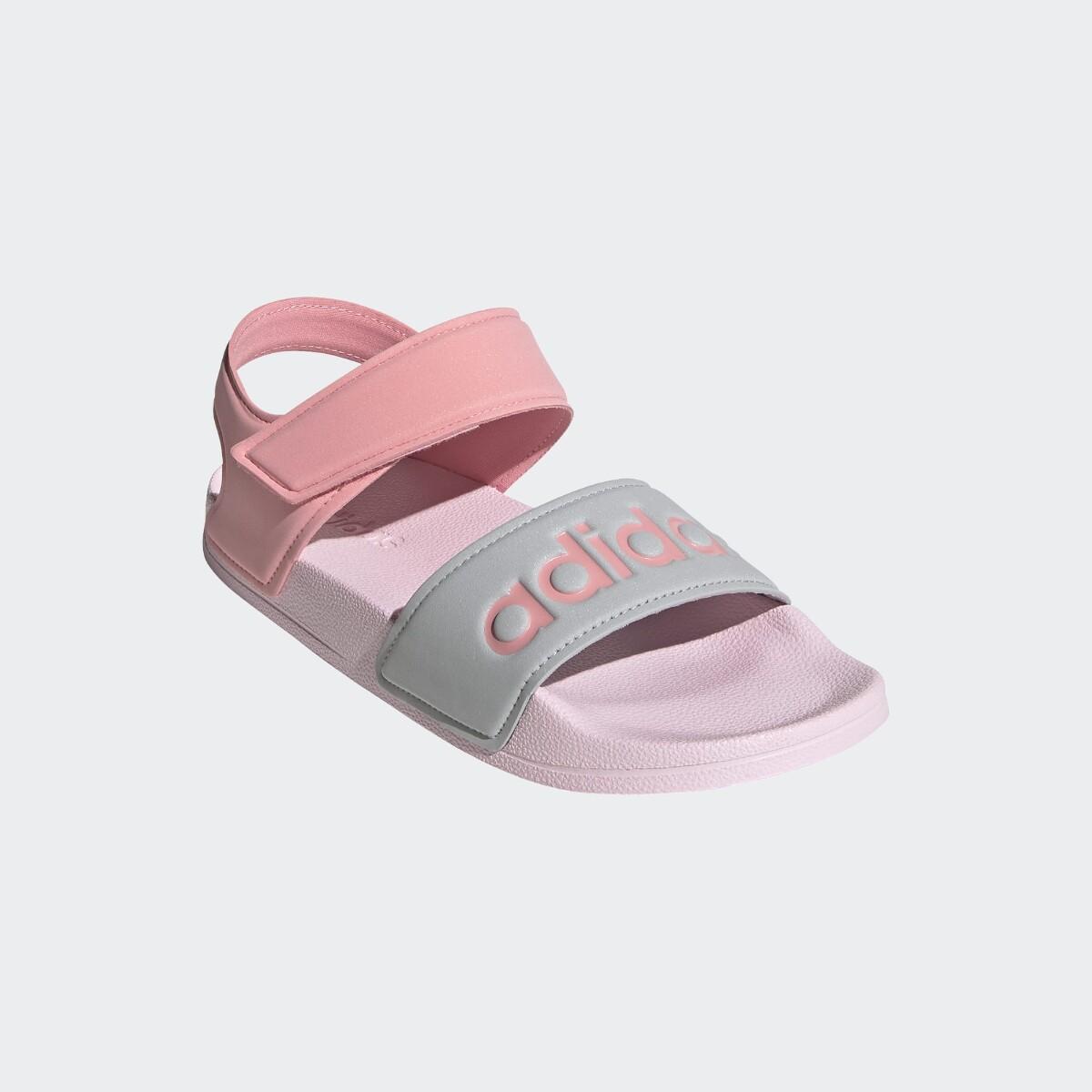 Rosa Adidas Adilette K Sandaler