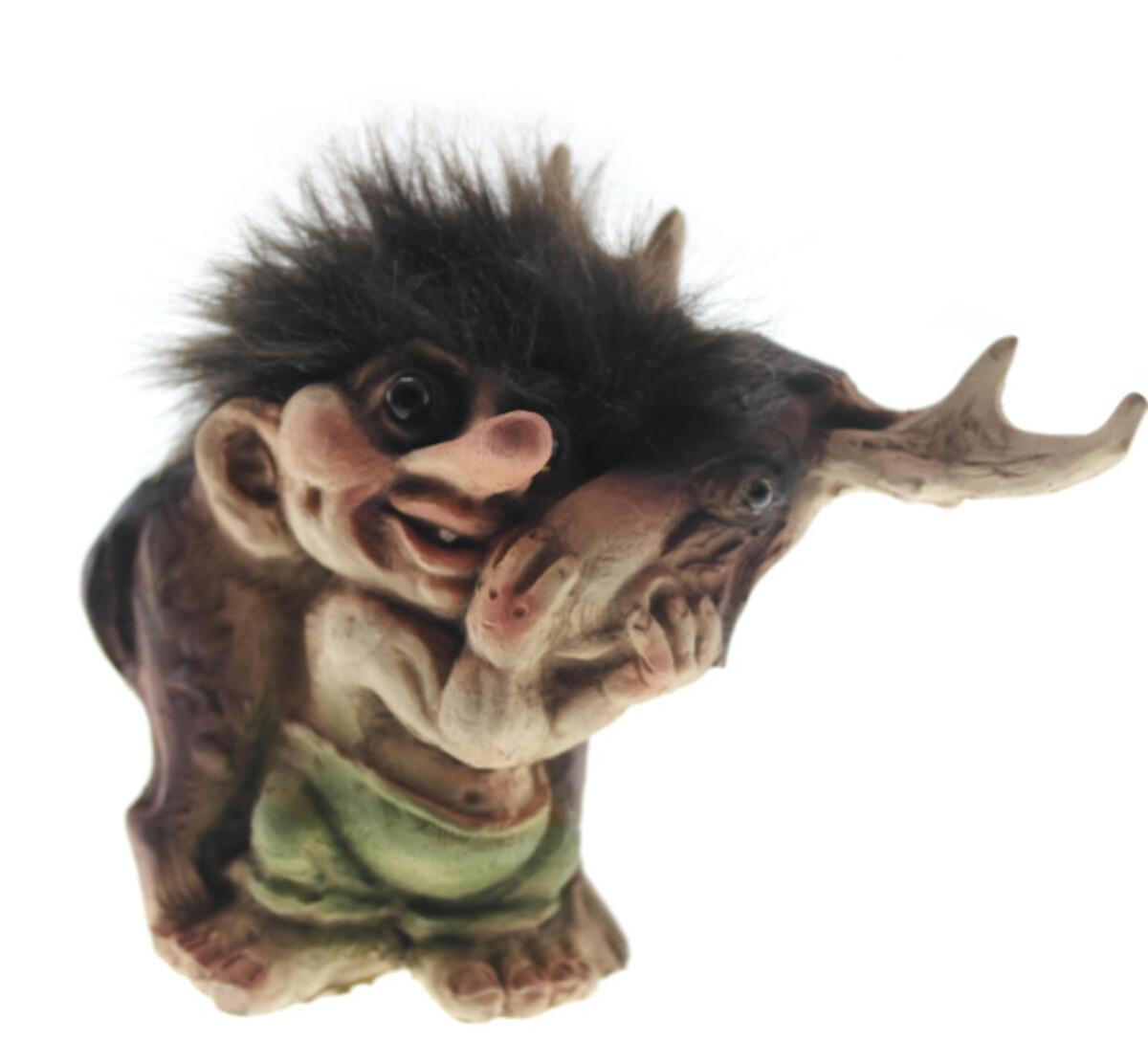 Troll with moose (Troll # 043)