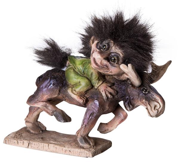 Image of Troll moose jocey (Troll # 045)