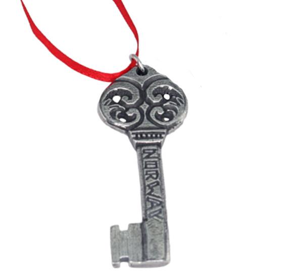 Image of Ornament, key, Tinn-Per
