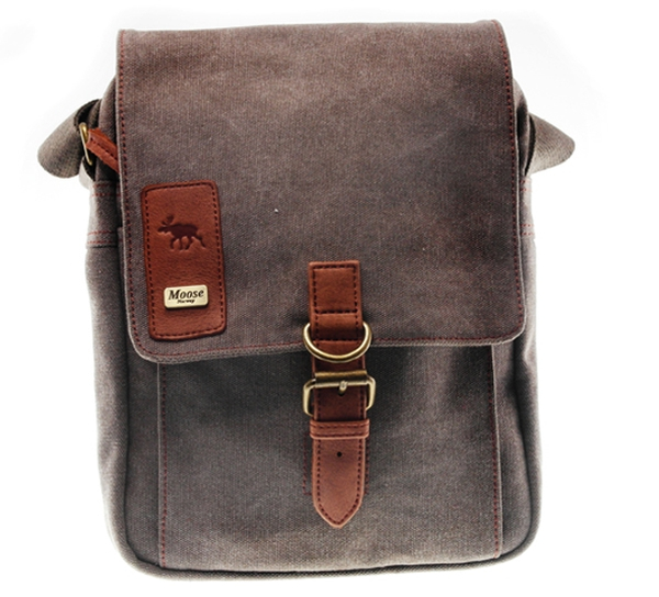 Image of Small Bag in washed canvas, Jopo