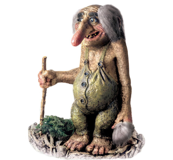 Image of Troll  man extra large (Troll # 211)