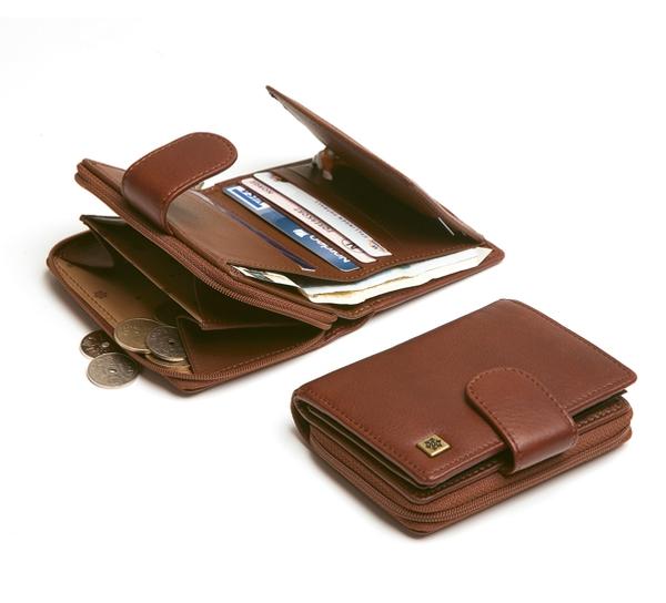 Image of Wallet, lady w/zipper, mod. 'Holmenkollen', Jopo