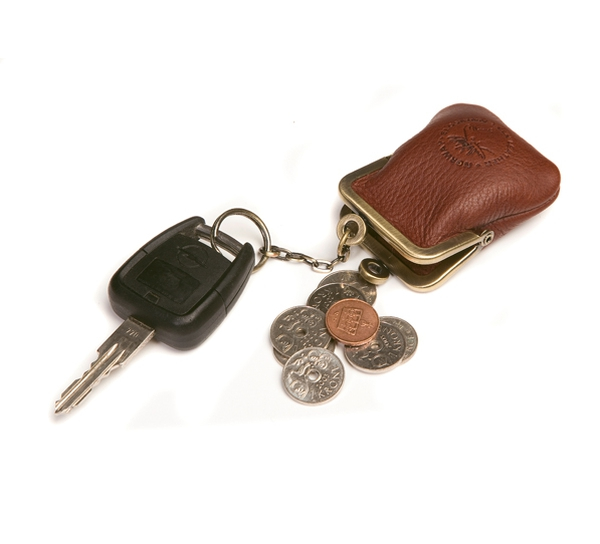 Image of Purse with key ring, Jopo