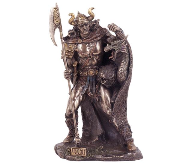 Image of Norse God, 'Loki'