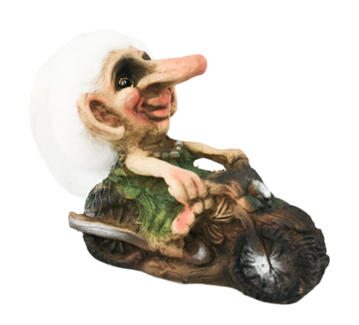 Troll lady driving motorbike (Troll # 005)