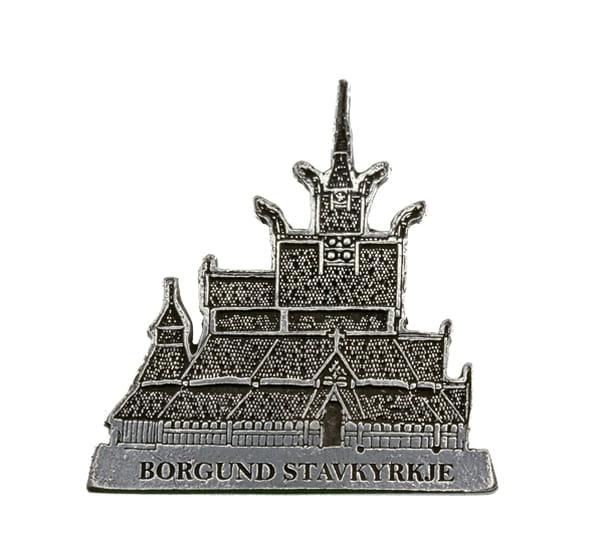 Image of Magnet, Borgund stave church Tinn-Per